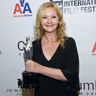 Joan Allen attends An Evening With Joan Allen during the 48th Chicago International Film Festival at the AMC River East 21 movie theater on October 14, 2012 in Chicago, Illinois.