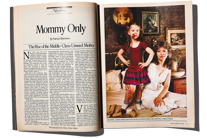 """Mommy Only"" by Patricia Morrisroe from June 6, 1983."