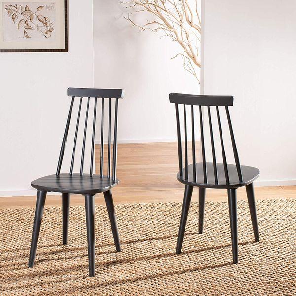Safavieh Burris Country Farmhouse Spindle Side Chair
