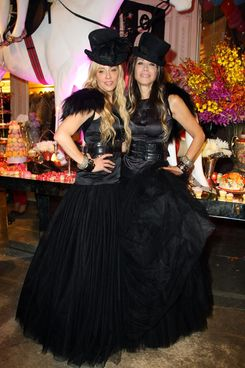 NEW YORK - NOVEMBER 06:  Co-Founders Pamela Skaist-Levy and Gela Nash-Taylor attend the opening party for Juicy Couture's 5th Avenue flagship store at the Juicy Couture boutique on November 6, 2008 in New York City, New York.  (Photo by Andrew H. Walker/Getty Images for Juicy Couture)