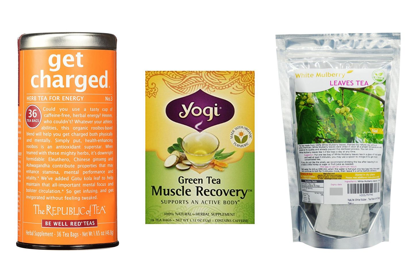Yogi Green Tea Muscle Recovery