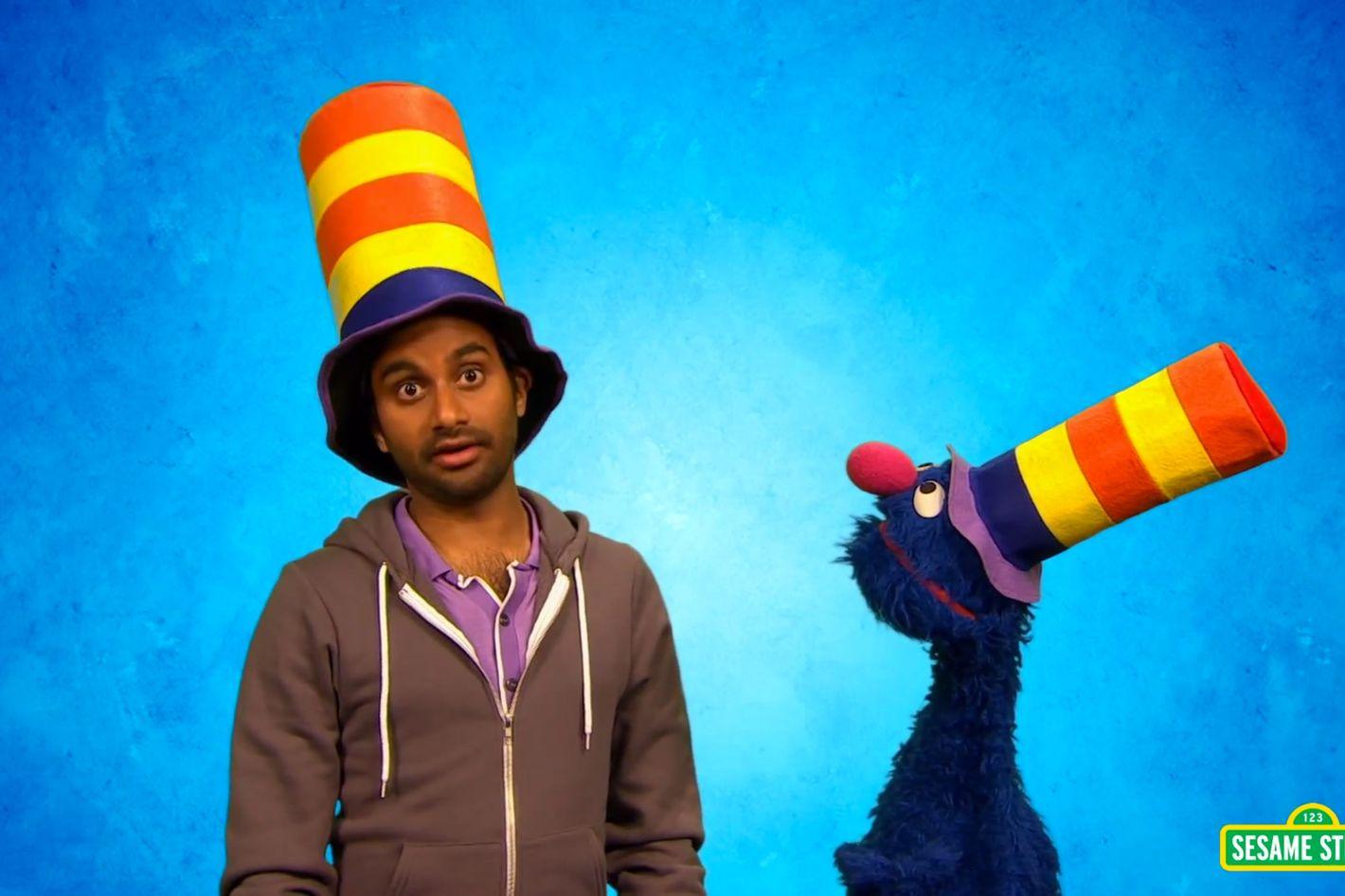 Aziz Ansari and Grover Get Very c6f2eba8d3d5