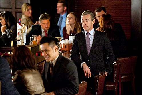 """Another Ham Sandwich""-- Eli (Alan Cumming) tries to decipher Stacie Hall√¢¬?¬?s (played by Amy Sedaris) true motives when she starts flirting with him as they continue to vie for the same clients, on THE GOOD WIFE, Sunday, Jan. 29th (9:00-10:00 PM ET/PT) on the CBS Television Network. Photo: David Giesbrecht/CBS √?¬©2011 CBS Broadcasting Inc. All Rights Reserved"