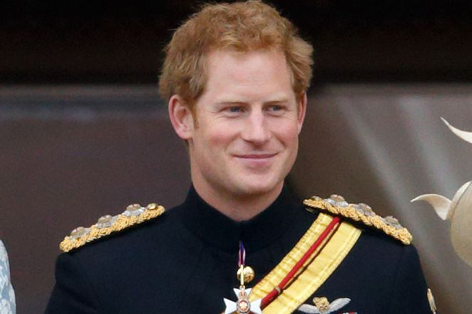 Prince Harry, adult.