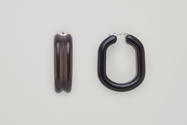 Cos Tubular Hoop Earrings