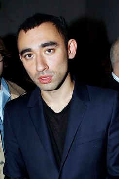 PARIS, FRANCE - JANUARY 19:  Nicola Formichetti after the Thierry Mugler: Paris Fashion Week Menswear A/W 2011 show as part of Paris Menswear Fashion Week Fall/Winter 2011-2012 on January 19, 2011 in Paris, France. (Photo by Eric Ryan/Getty Images)