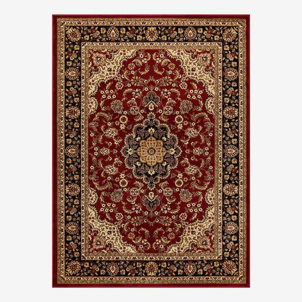 Noble Medallion Red Persian Rug 120 x 160 cm