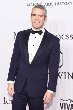 Andy Cohen at the amFAR New York gala.