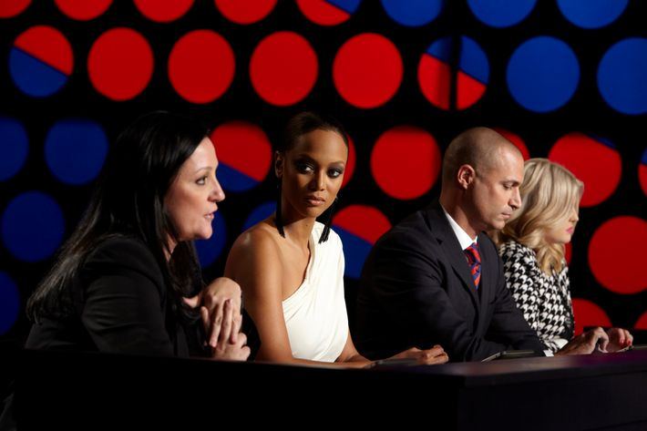 Kelly Cutrone joins the show's judging panel tonight.
