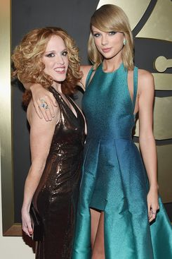 Abigail Anderson and Taylor Swift.