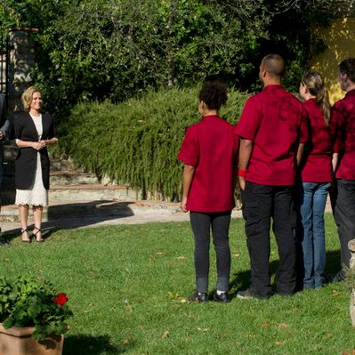 Cat Cora knew she'd be the next one called in this game of Red Rover.