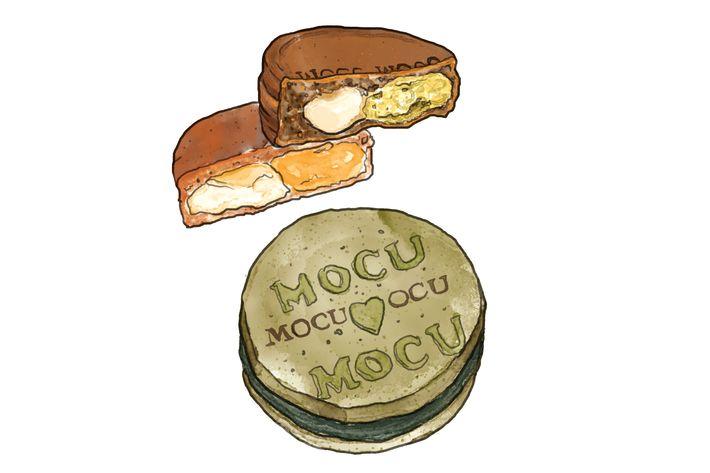 Mocu-Mocu's obanyaki.