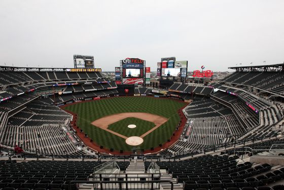 "NEW YORK - AUGUST 21:  A general view of atmosphere before the premiere of ""The Last Play At Shea"" at Citi Field on August 21, 2010 in the Queens borough of New York City.  (Photo by Neilson Barnard/Getty Images)"