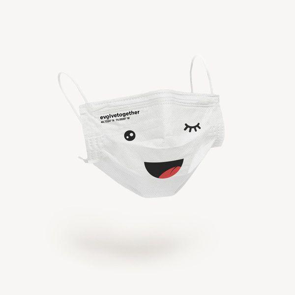 Evolvetogether NYC Kids Face Masks