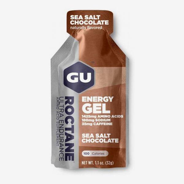 GU Roctane Sports Gel Sea Salt Chocolate, 24-Pack