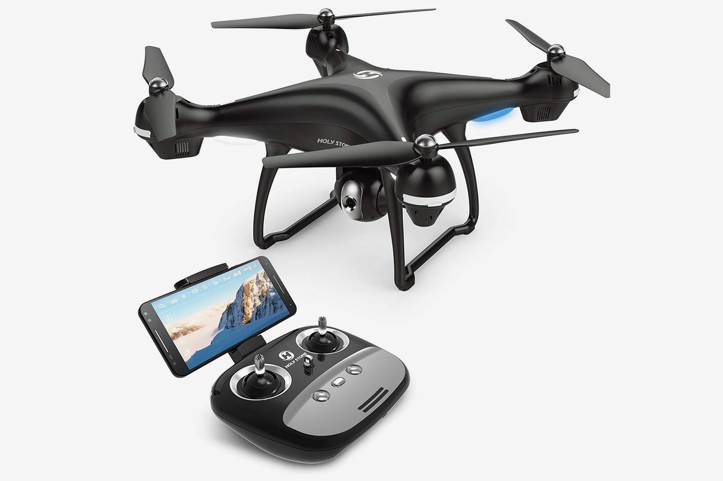 Holy Stone GPS FPV RC Drone HS100 with Camera Live Video and GPS Return Home Quadcopter