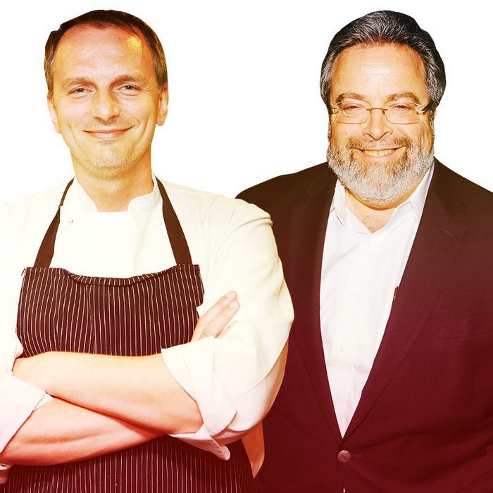 Have you heard both these guys opened restaurants this week?