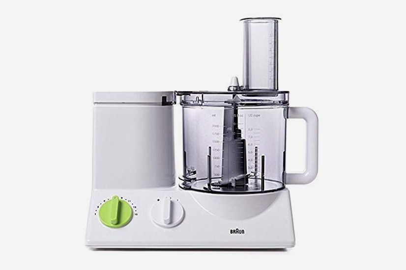 Braun FP3020 12-Cup Food Processor (Includes 7 Attachment Blades + Chopper and Citrus Juicer)