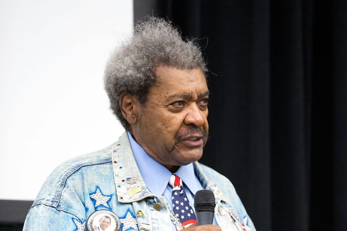 Don King: American, patriot, and Josie suporter.