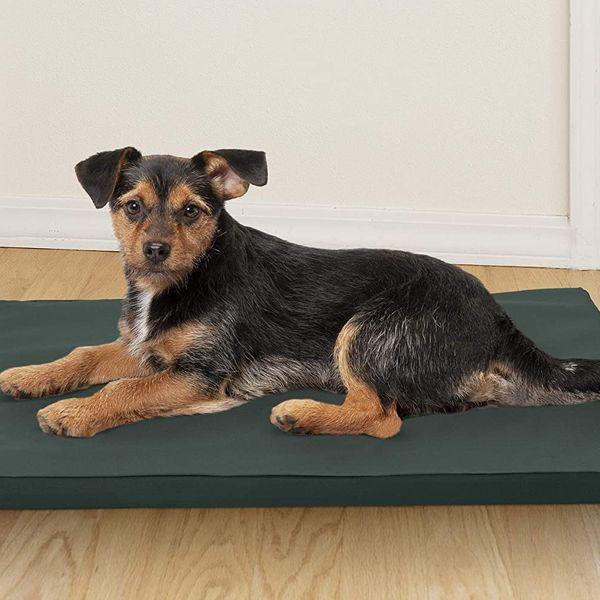 Furhaven Pet - Water-Repellent Low-Profile Dog Kennel Pad
