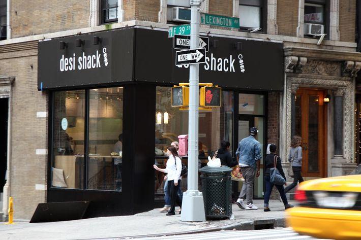 Desi Shack's exterior.