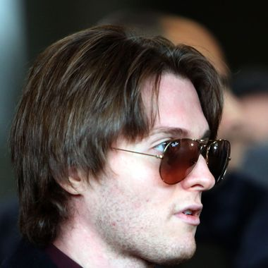 FLORENCE, ITALY - JANUARY 30:  Raffaele Sollecito leaves the Nuovo Palazzo di Giustizia courthouse of Florence during a break of the final verdict of the Amanda Knox and Raffaele Sollecito retrial on January 30, 2014 in Florence, Italy.  Meredith Kercher was murdered in her bedroom on November 1st, 2007 in Perugia. On March 25, 2013 the verdict that declared Knox and Sollecito innocent and accused Rudy Guede of the murder was cancelled and the trial had to restart in Florence.  (Photo by Franco Origlia/Getty Images)