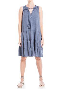 Max Studio Women's Sleeveless A Line Jersey Dress