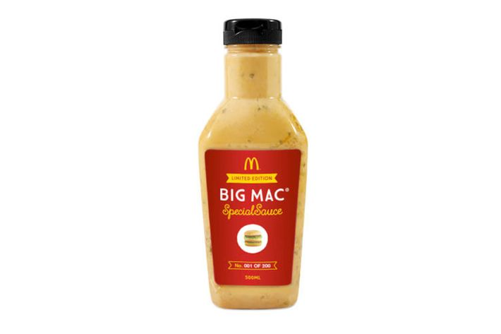 McDonald's 'Special Sauce' Now for Sale in Commemorative ...