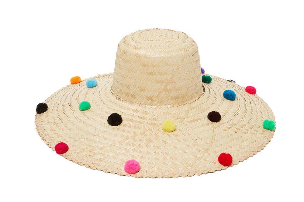 Nannacay Brazil Hat Pompom