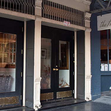 The Harrison was the first major downtown restaurant to open after September 11, 2001.