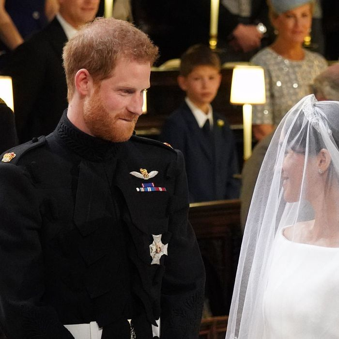 Prince Harry biting his lip.