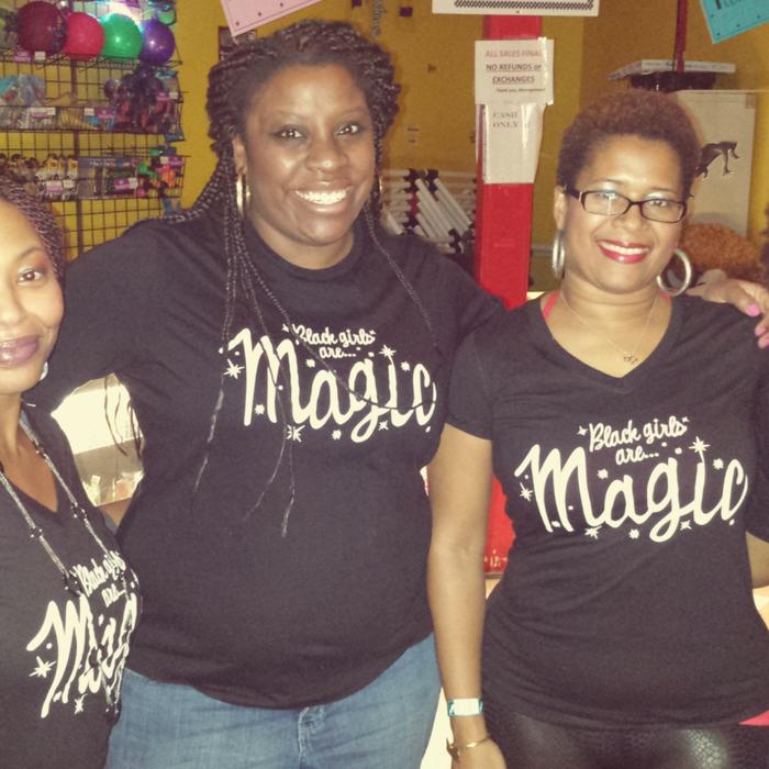 Black Girls Are Magic.