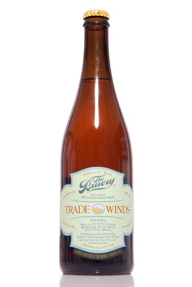 "The Bruery (California)<br>$14.95 for 25.4 oz. <br><strong>Type:</strong> Tripel<br><strong>Tasting notes:</strong> ""An interesting take on Abbey-style strong golden ales, this one sends the requisite candy-sugar flavor to the bench in favor of rice. The Southeast Asian theme is continued with the addition of Thai basil—fruity up front, with a dry, spicy finish."" <br>—Matt Barclay, cellar manager, Bierkraft<br> <br>"