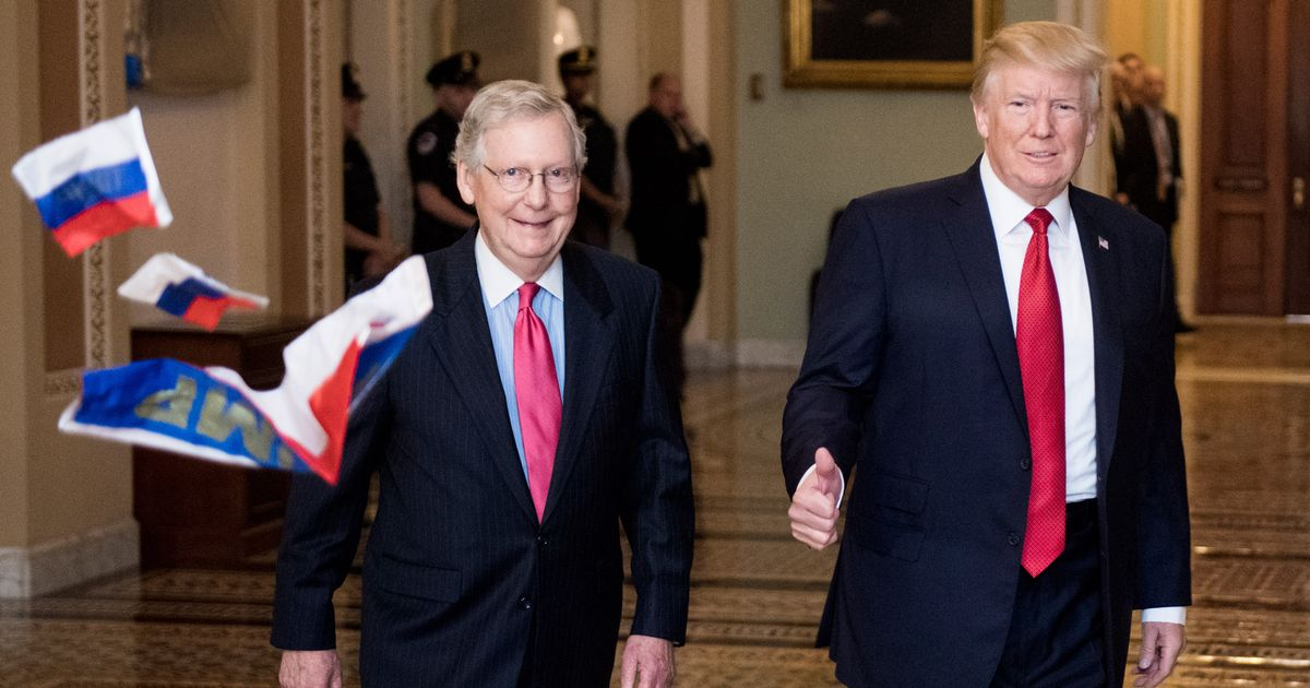 Putin Accomplice Mitch McConnell Says Case Closed
