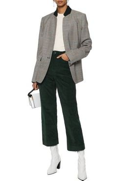 Rag & Bone Cotton-Corduroy Straight-Leg Pants