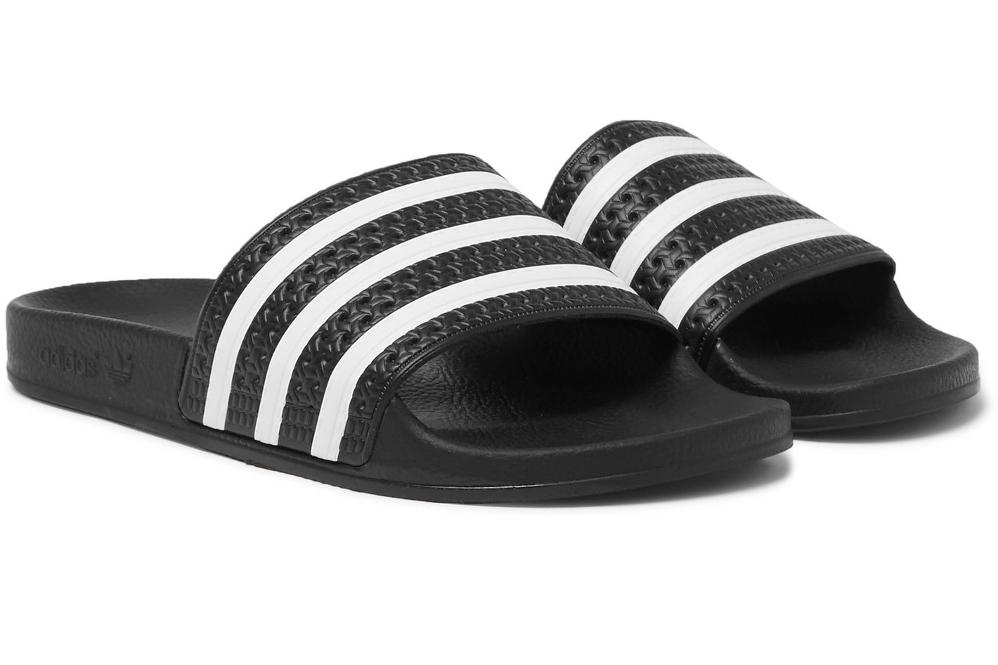 Adidas Originals Adilette Textured-Rubber Slides