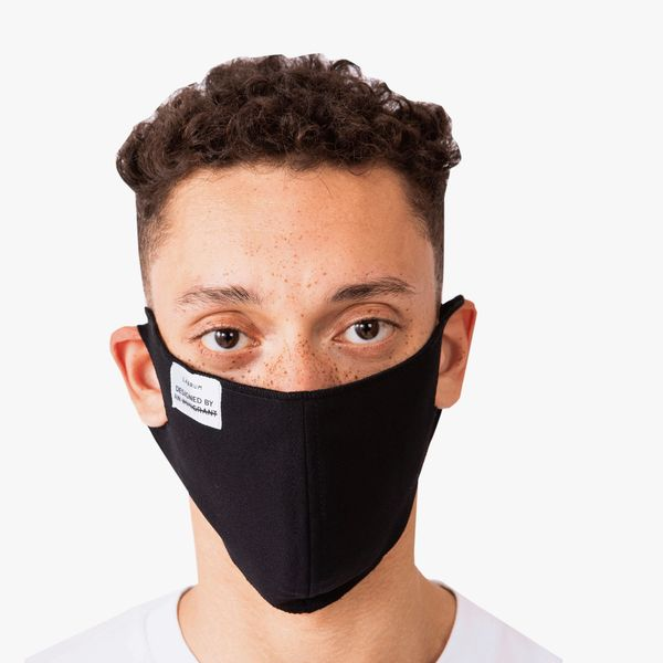 Black Washable and Reusable Mask