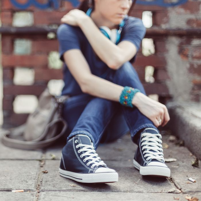 Past studies have shown that traumatized teenage girls are more likely to  develop post-traumatic stress disorder than their male counterparts, ...