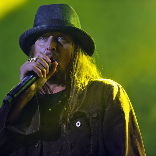 LOUISVILLE, KY - OCTOBER 05:  (FOR EDITORIAL USE ONLY)   Kid Rock performs during the 2014 Louder Than Life Festival at Champions Park on October 5, 2014 in Louisville, Kentucky.  (Photo by Stephen J. Cohen/Getty Images)