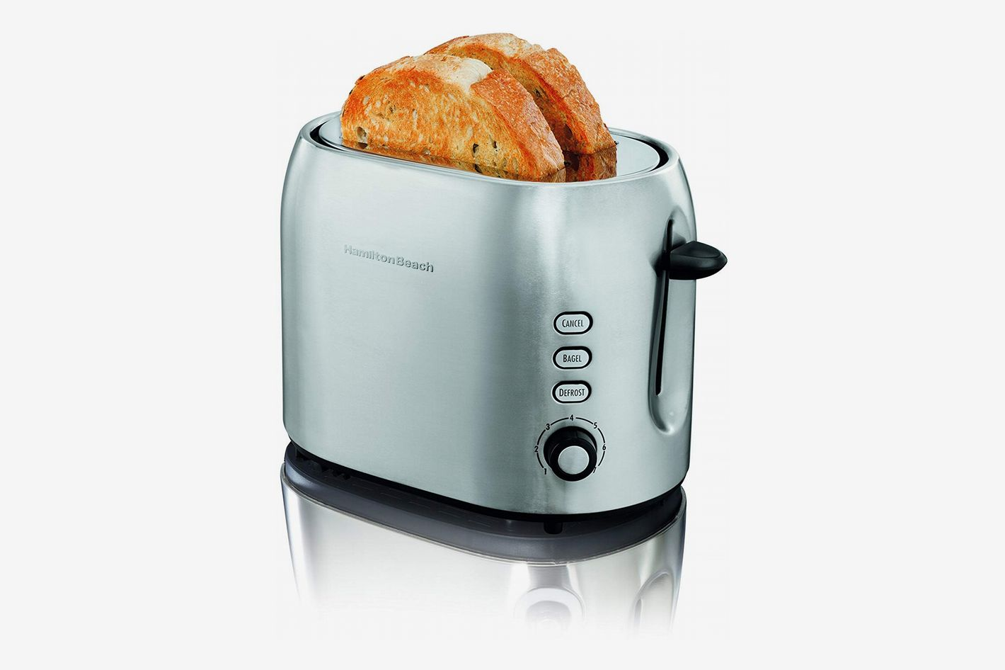 Hamilton Beach 22706 2 Slice Metal Toaster