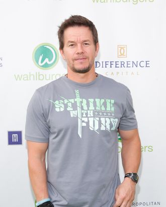 TORONTO, ON - SEPTEMBER 09: Mark Wahlberg arrives on the green carpet at the