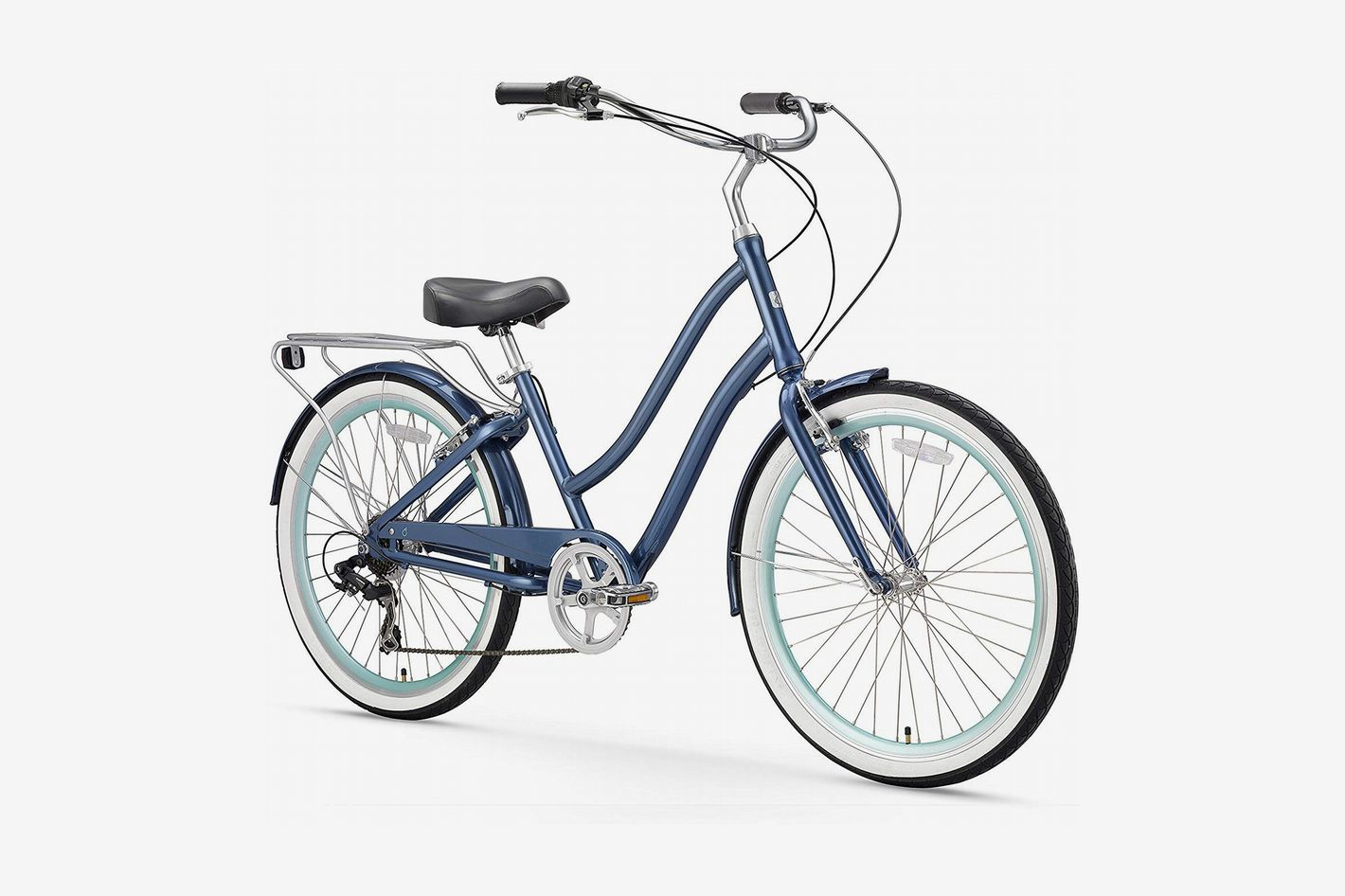 Sixthreezero EVRYjourney Women's Step-Through Hybrid Cruiser Bicycle