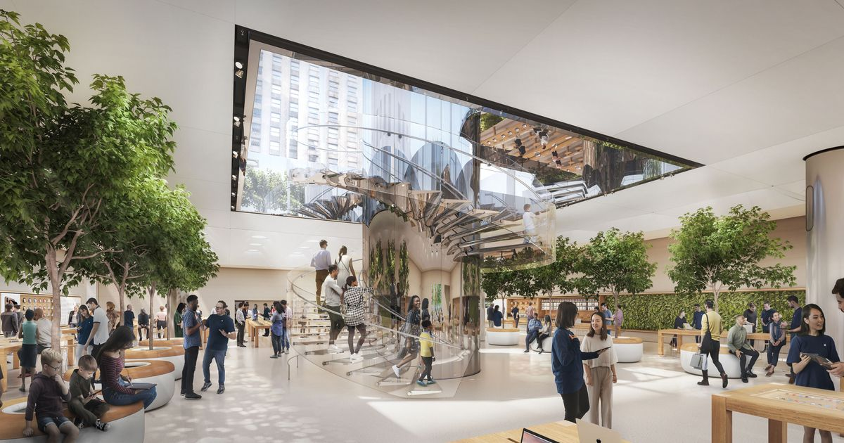 First Look: The Renovated Fifth Avenue Apple Store Flagship Is Bigger and Brighter