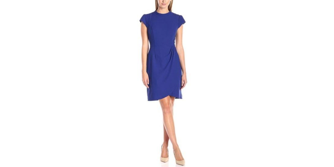 Lark & Ro Ruched Dress