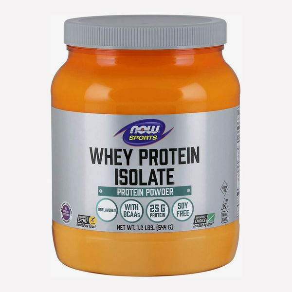Now Sports Nutrition Whey Protein Isolate, Unflavored, 1.2 lb