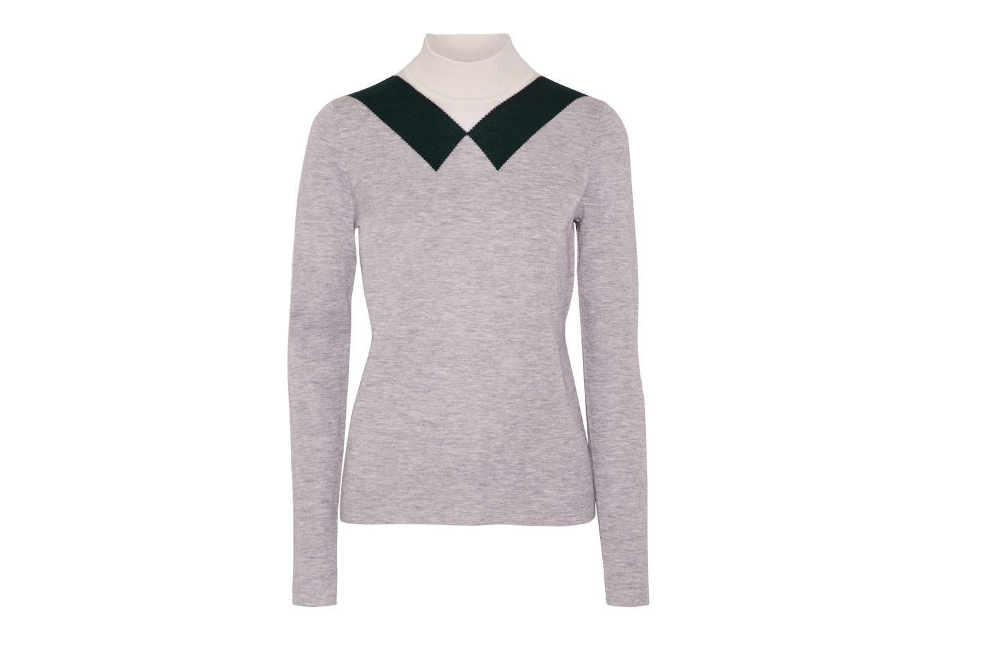Derek Lam Stretch Cashmere and Silk Turtleneck