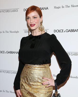 NEW YORK, NY - JULY 17: Actress Christina Hendricks attends