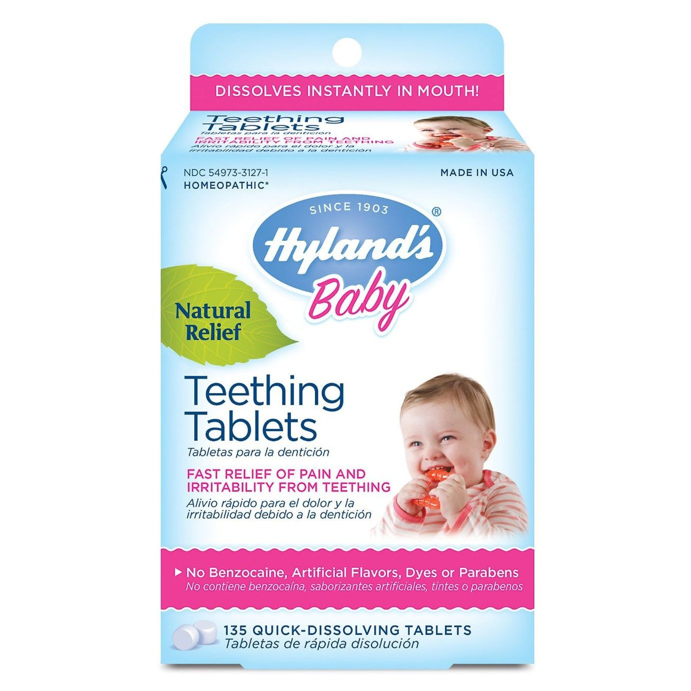 Hyland's to discontinue teething tablets, gels in US