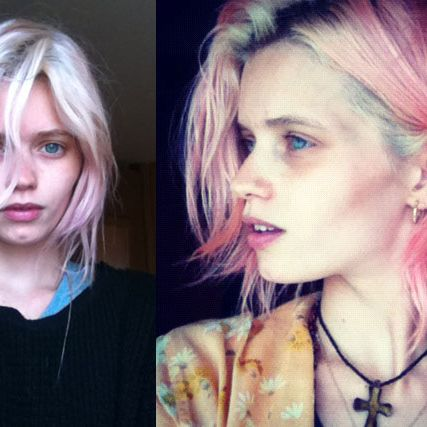 Abbey Lee Kershaw's <em>Mad Max</em> hair.
