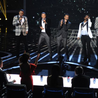 THE X FACTOR: Stereo Hogzz performs in hopes they will convince the judges to let them stay on THE X FACTOR airing onThursday, Nov. 10 (8:00-9:00 PM ET/PT) on FOX. CR: Ray Mickshaw / FOX.